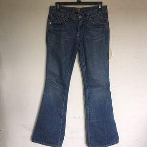 7 for all mankind distressed Bootcut Jeans Size 27
